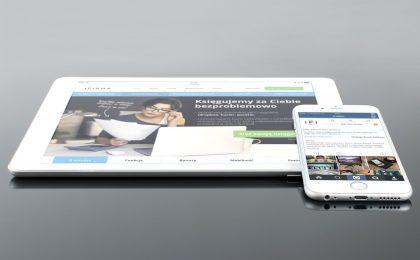 clean professional website design